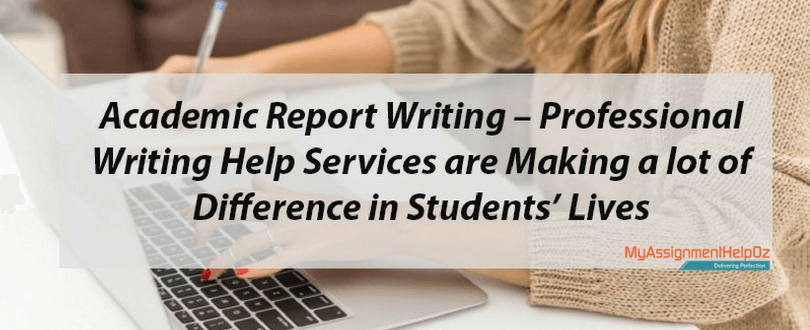 report writing help online