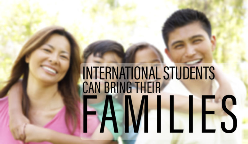 international student bring family in Australia
