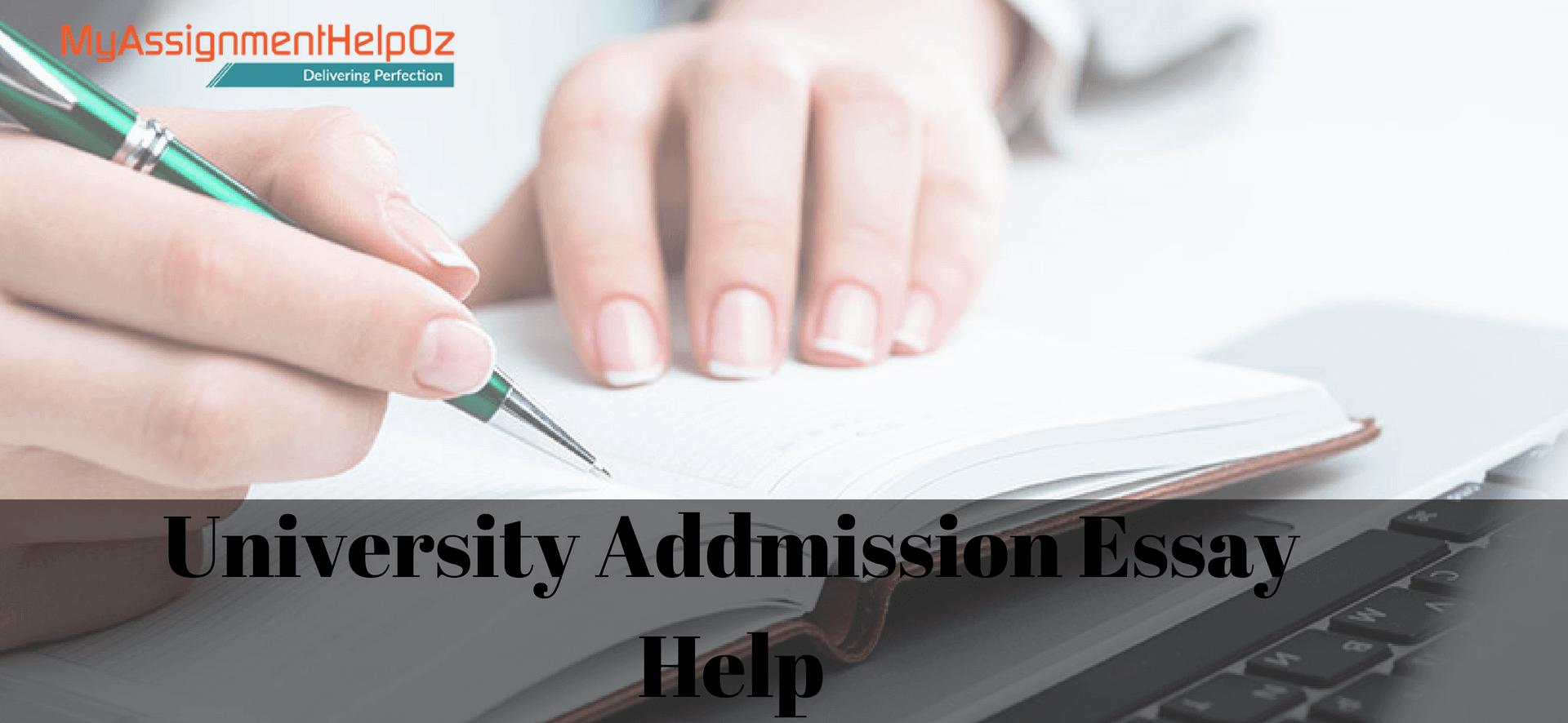 Admission essay help