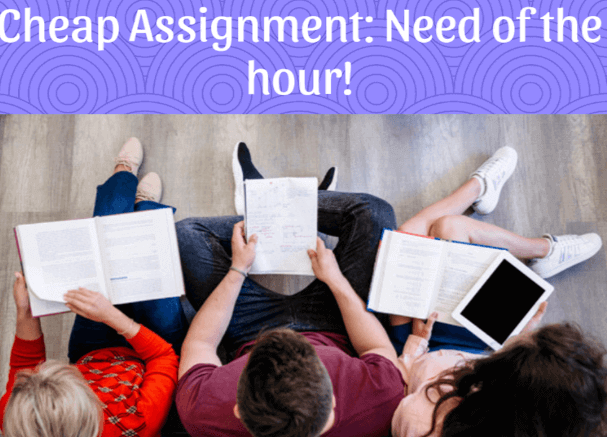 Affordable Assignment Help: Need of The Hour!