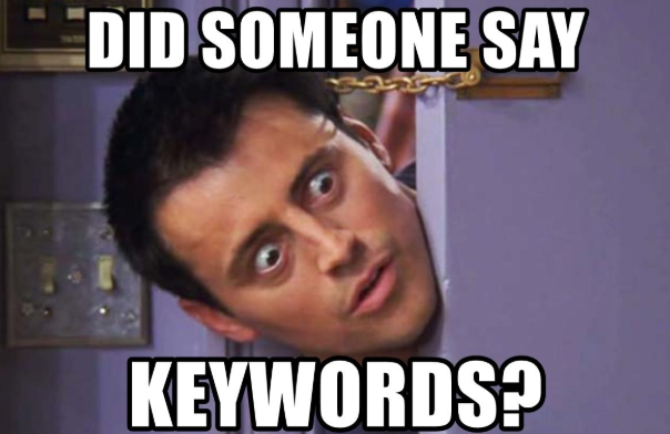 keywords use in assignment