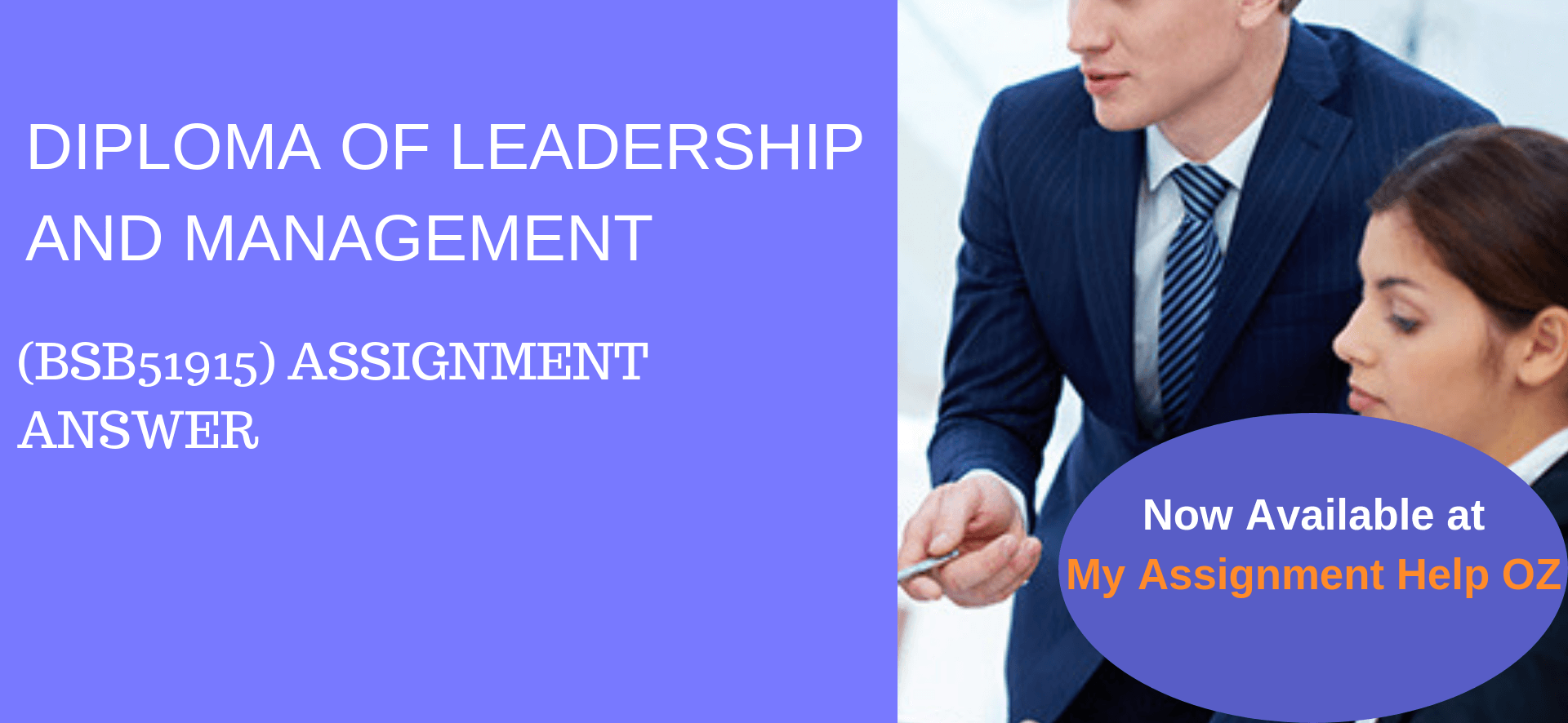 BSB51915 diploma of leadership and management assignment answers