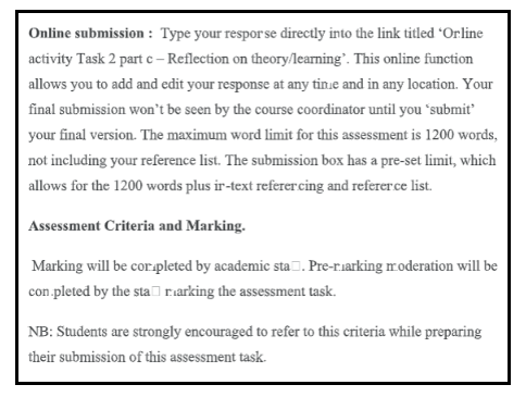 Nursing Reflective Journal Assignment Sample